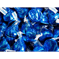 Hershey's Kisses Blue Foiled Milk Chocolates with Coconut Creme Fillin