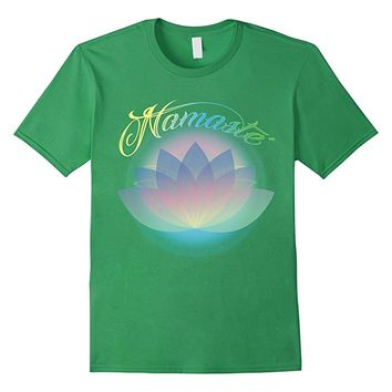 Namaste Flower Relaxation T-Shirt The Harmony Cool Tee Gym