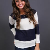 Stand Out in Stripes {Navy and White}