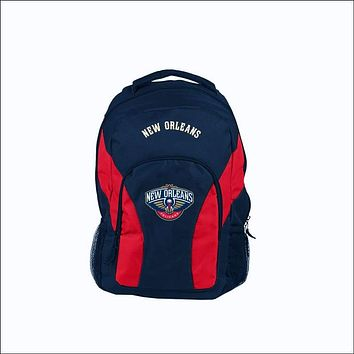 "Pelicans OFFICIAL National Basketball Association, """"Draft Day"""" 18""""H x 10"""" (12"""" Back) Backpack  by The Northwest Company"