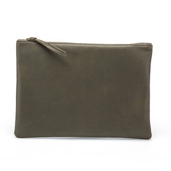 Rebel Clutch Olive