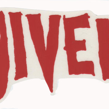 Given Logo Sticker Red