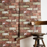 Graham & Brown Red Brick Wallpaper | Urban Outfitters