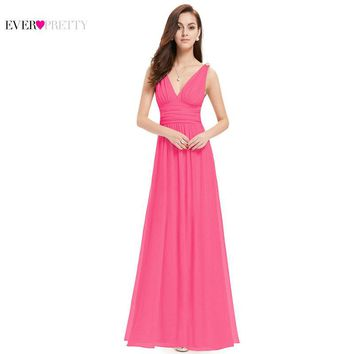 Prom Dresses New Arrival Empire EP09016 Ever Pretty Special Occasion Dresses V Neck Elegant 2017 Prom Dresses
