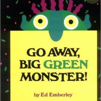 Go Away, Big Green Monster! Hardcover – 1992