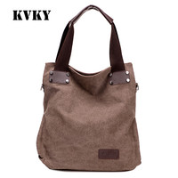 Sky fantasy fashion canvas vintage casual classic high quality women shoulder bag vogue female crossbody handbag girl large tote
