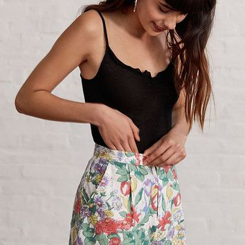 UO Judy Floral Short | Urban Outfitters