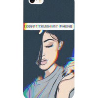 """Don't touch my phone"" Kylie Jenner phone case"