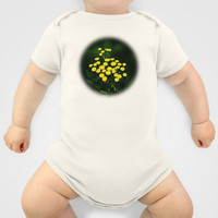 Green Jacket With Golden Buttons Baby Clothes by Digital2real