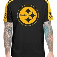 Men's 47 Brand 'Pittsburgh Steelers - Pointman' Short Sleeve Crewneck T-Shirt,
