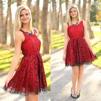 Red Brilliance Dress