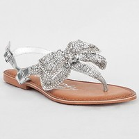 Naughty Monkey Jeweled Delight Sandal