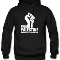 Free Palestine End Israeli Occupation Hoodie