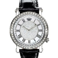 Queen Couture Watch - Black