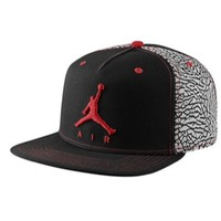 Jordan Retro 3 Sneaker+ Snapback Cap - Adult at Eastbay