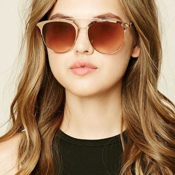 Browline Square Sunglasses