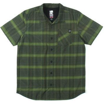 Metal Mulisha Gibson Button-Up Shirt - Military Green - http://www.shareasale.com/m-pr.cfm?merchantID=7124&userID=1042934&productID=540361529 / Metal Mulisha