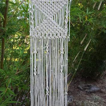 "Small Macrame Wall Hanging Wall Art Nursery ""Angelica""  FREE Shipping"