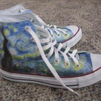 DCCKHD9 Starry Night Shoes (Converse brand)