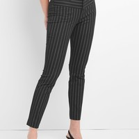 Stripe Skinny Ankle Pants|gap