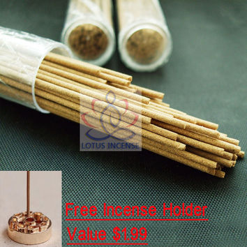 Natural Australia Sandalwood Incense Sticks Sandal Incense 20g+60 Stick Scent Moderate Herbal Incense Home scent Natural Aroma
