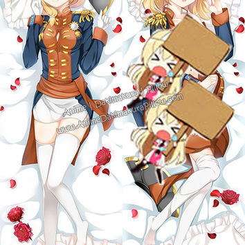 New Rodney - Warship Girls Anime Dakimakura Japanese Hugging Body Pillow Cover H3096