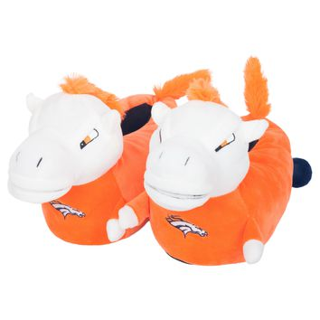Denver Broncos Official NFL 3d Mascot Slipper - Youth 8-16