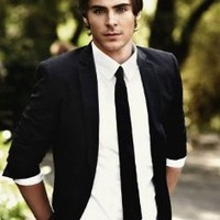 Zac Efron Nice Silk Fabric Cloth Wall Poster Print (20x13inch)