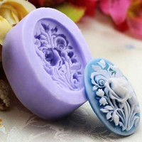 Kitchen Accessories Rose Flower Silicone Fondant Mould Cake Decorating Chocolate Baking Mold Tool RANDOM COLOR (Size: One Size, Color: Multicolor) = 5658091137