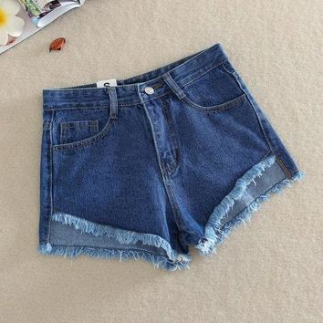 ESBON 2017 Summer Casual New Slim Fit Denim Fashion Women Sexy Hot Shorts  Denim Shorts Jeans High Waist Short