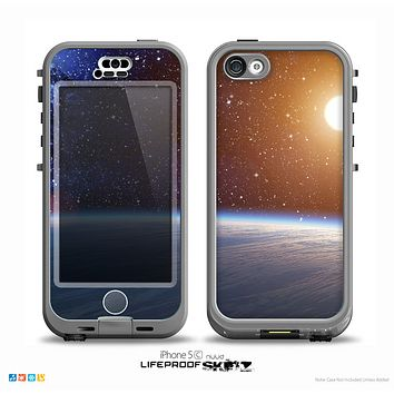 The Glowing Universe Sunrise Skin for the iPhone 5c nüüd LifeProof Case