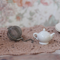 i'm a little teapot tea leaf filter - $9.99 : ShopRuche.com, Vintage Inspired Clothing, Affordable Clothes, Eco friendly Fashion