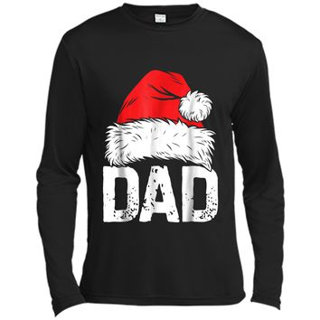 Dad Christmas Santa Family Matching Pajamas PJs papa Long Sleeve Moisture Absorbing Shirt