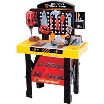 World Tech Toys 35815 Big Boy's 54-Piece Workshop