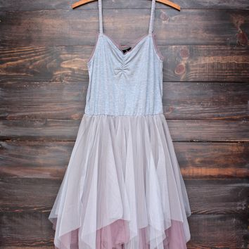 Ryu weekender tutu slip dress in stone