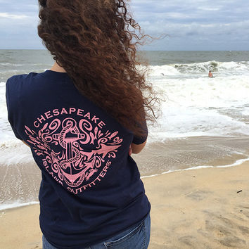 Anchor Shirt - XXL |  Preppy Anchor Shirt | Chesapeake Shirt | Sailing Shirt| Sailing Anchor Shirt | Graphic Anchor T Shirt