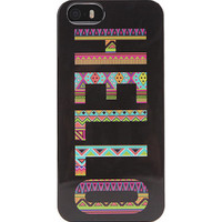 With Love From CA Tribal Hello iPhone 5 Case - Womens Scarves - Black - NOSZ