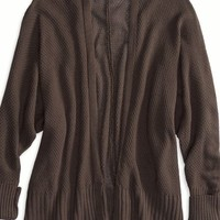 AEO Women's Don't Ask Why Open Cardigan