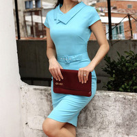 SERENA pencil dress inspired from custom made wiggle