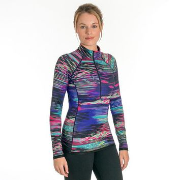 Women's Snow Angel Aurora Reversible Quarter-Zip Top
