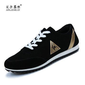 Hot Sale Mens Outdoor Running Shoes Male Light Soft Breathable Lace Up Sport Sneakers Lifestyle Athletic Trainers Trail Shoes