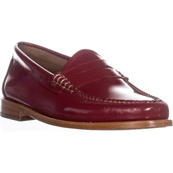 Weejuns G.H. Bass & Co. Whitney Penny Loafers, Strawberry, 8 US