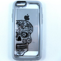 OTTERBOX Symmetry iPhone 6 case, case cover iPhone 6 otterbox ,iPhone 6 otterbox case,otterbox iPhone 6, otterbox, sugarskull otterbox case