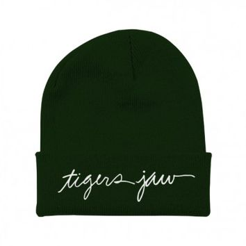 Tigers Jaw - Script Beanie - Tigers Jaw - Artists