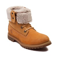 Womens Timberland Fleece Fold Down Boot