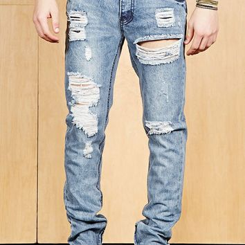 Young & Reckless Zippered Jeans