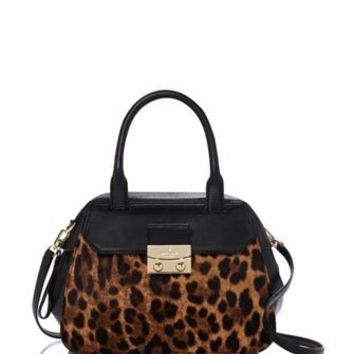 Kate Spade New York Alice Street Luxe Small Leopard Adriana