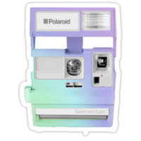 Polaroid Camera - Ombre by positiver