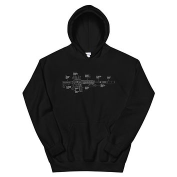 Components of Freedom Unisex Hoodie