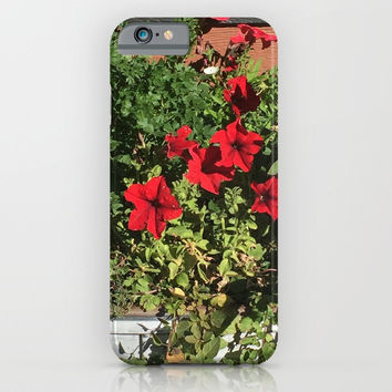 Something in Red iPhone & iPod Case by Jessica Ivy
